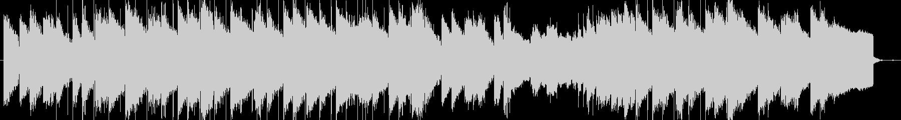 lofi風しっとりとしたピアノBGMの未再生の波形