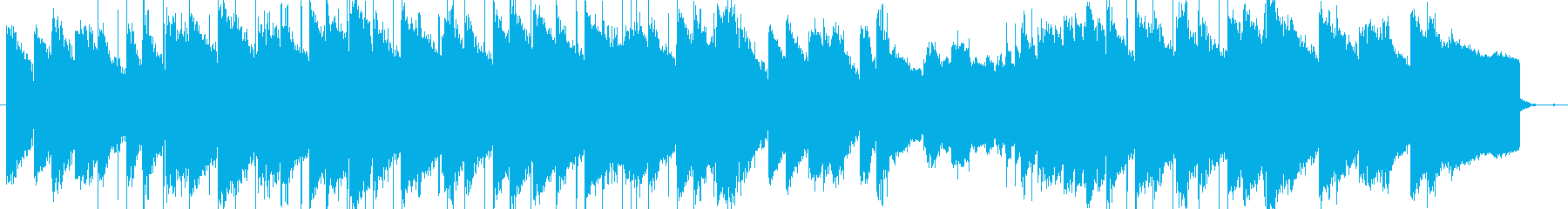 lofi風しっとりとしたピアノBGMの再生済みの波形