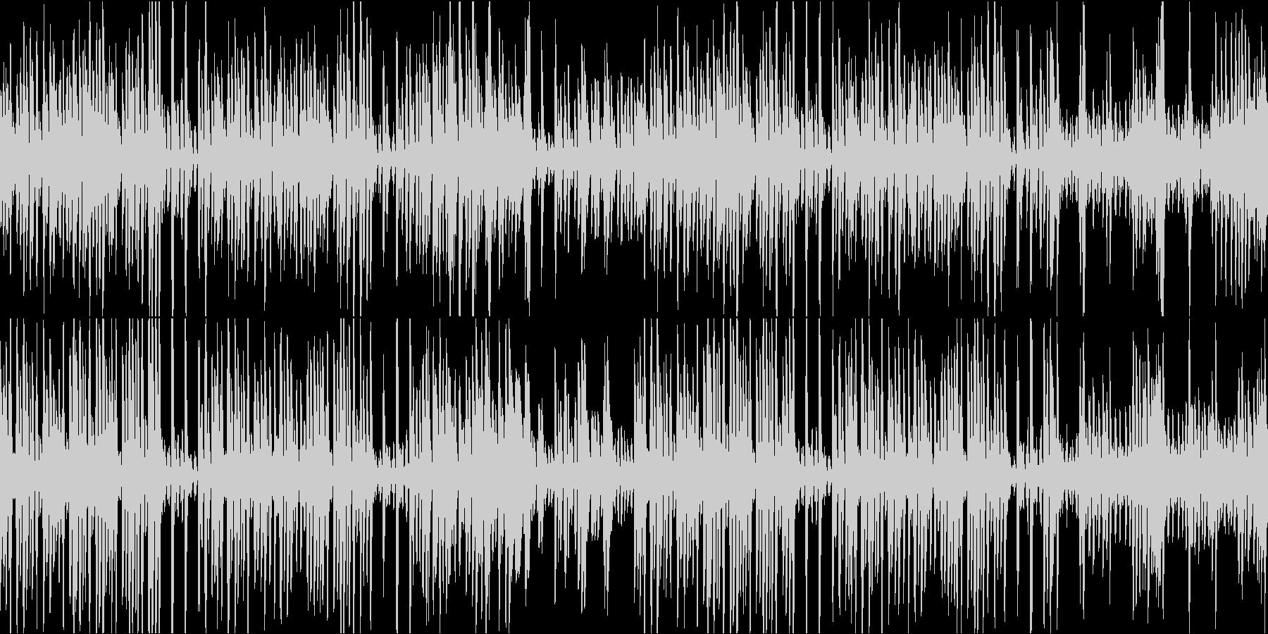 ウェスタン風ラグタイムピアノループの未再生の波形