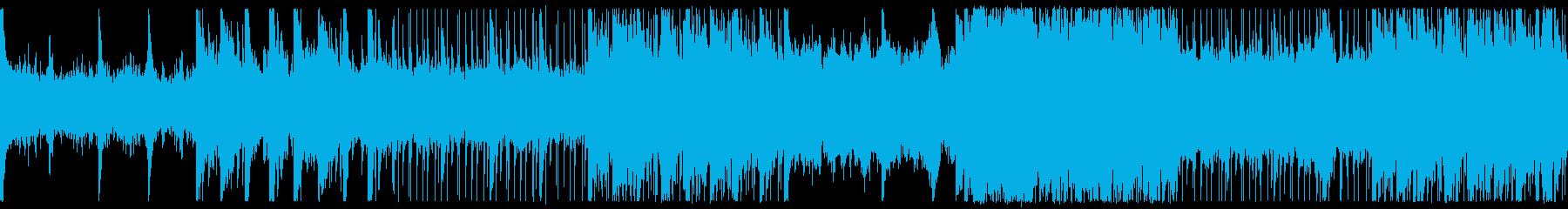 蜃気楼の再生済みの波形