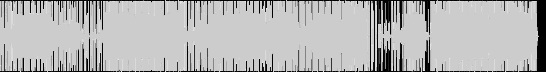 ダークな雰囲気のLo-fi HipHopの未再生の波形
