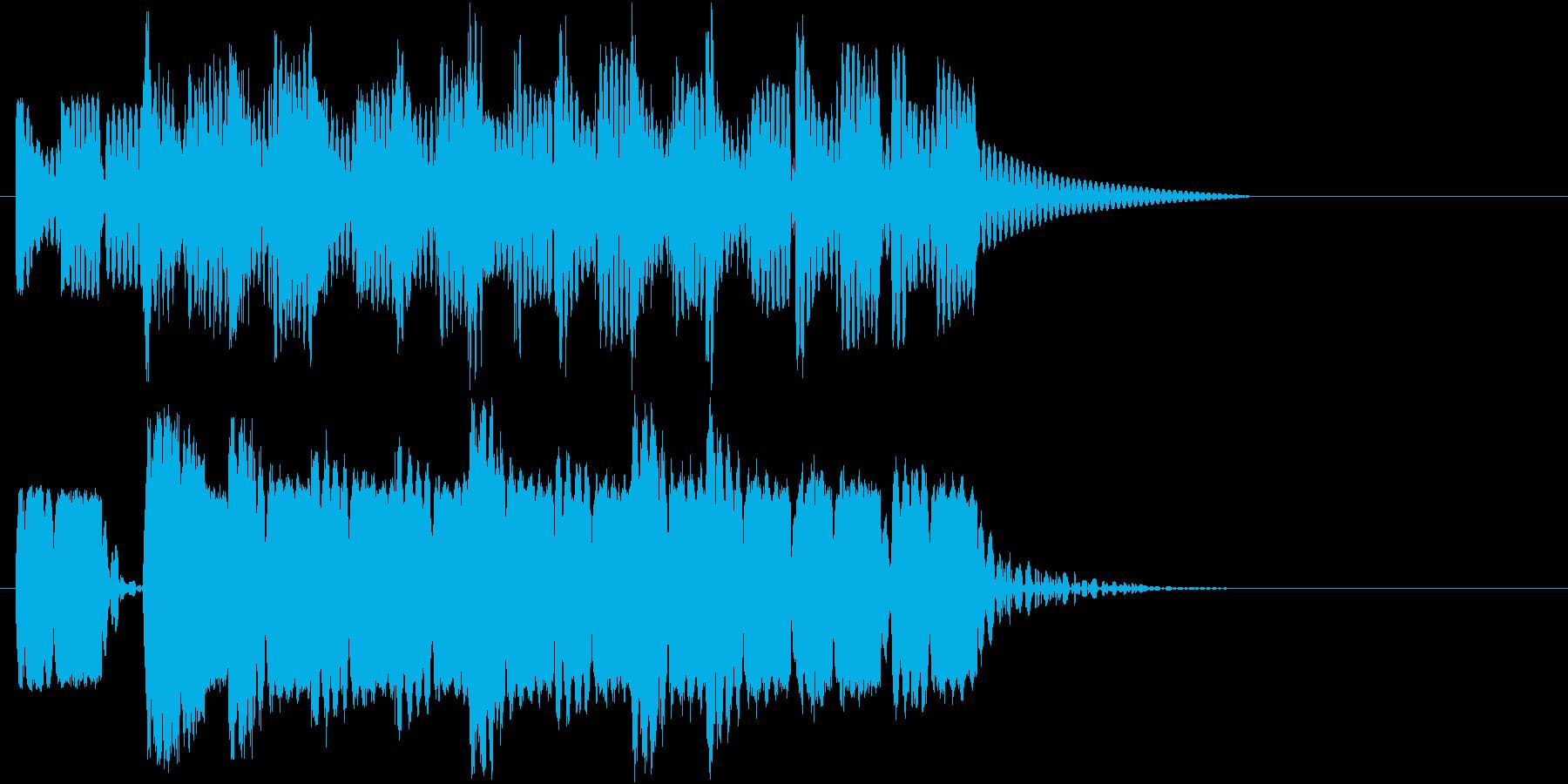 ロボットサウンド 機械音8  の再生済みの波形