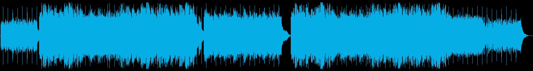 落ち着いたLofi BGM の再生済みの波形