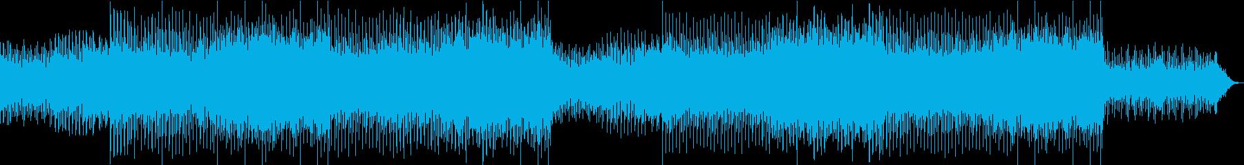 和風トランスEDM 琴と笛の再生済みの波形