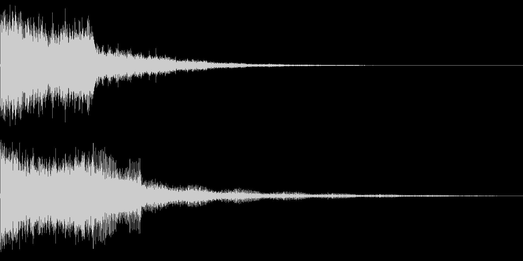245 FX爆発音(3)の未再生の波形