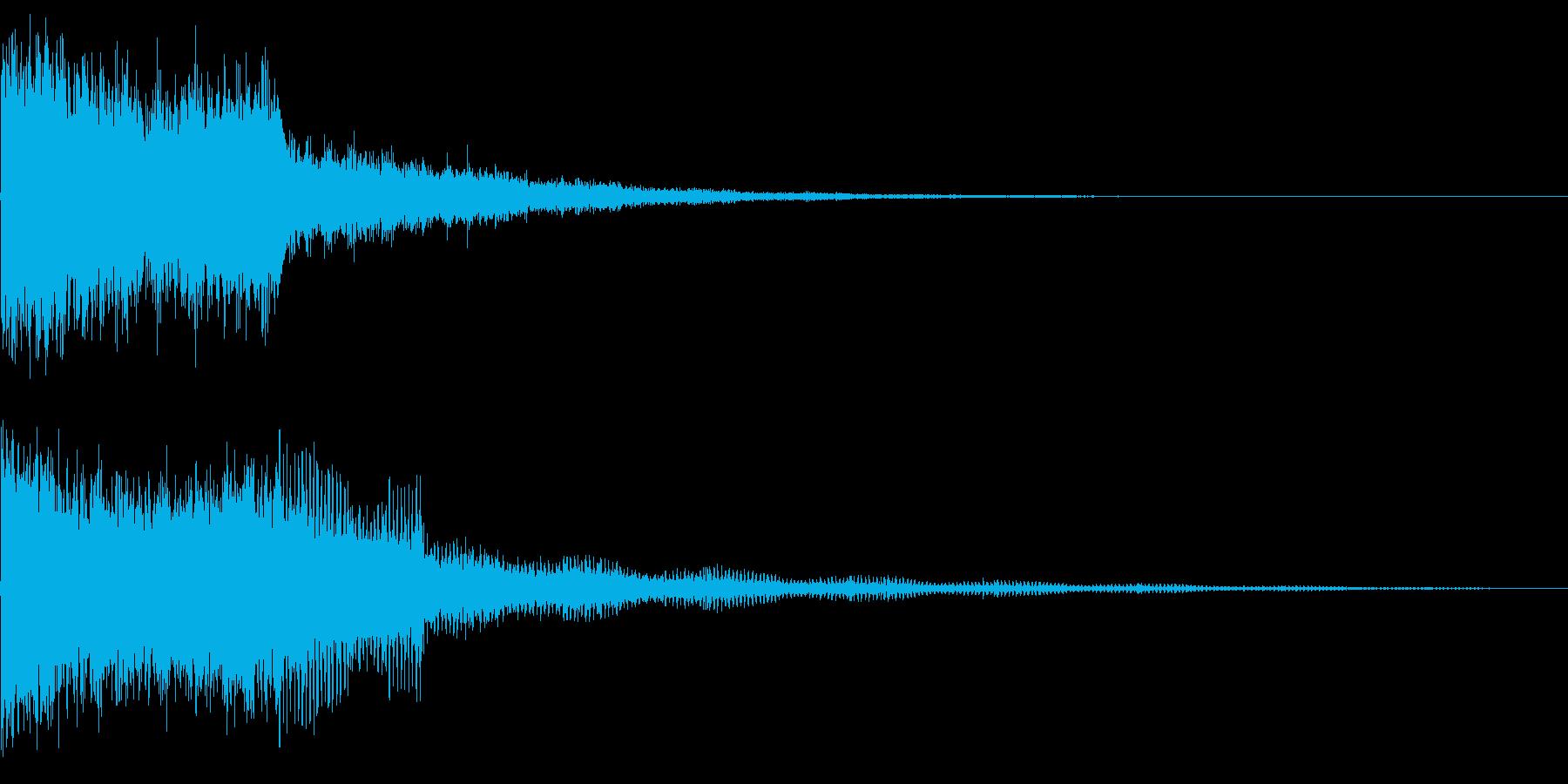 245 FX爆発音(3)の再生済みの波形