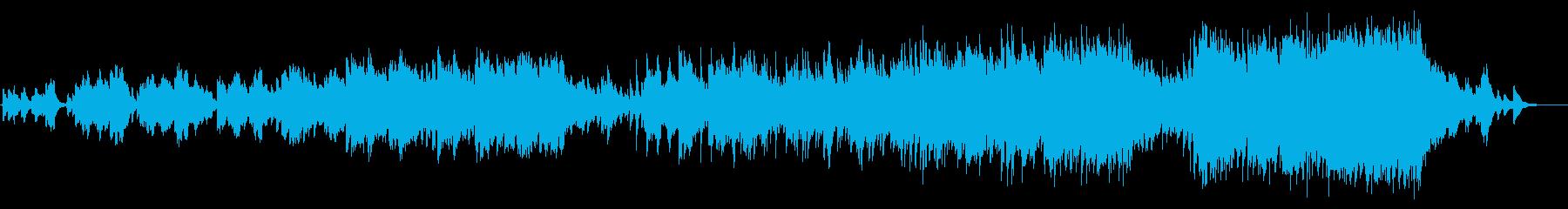 ピアノバラード。ブライダルシーンのBGMの再生済みの波形