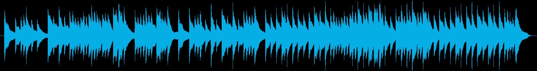 お正月の曲「お正月」(琴)の再生済みの波形