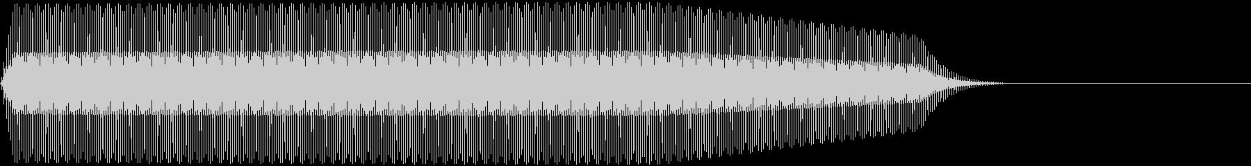 DENSHION ハイトーンな電子音 4の未再生の波形