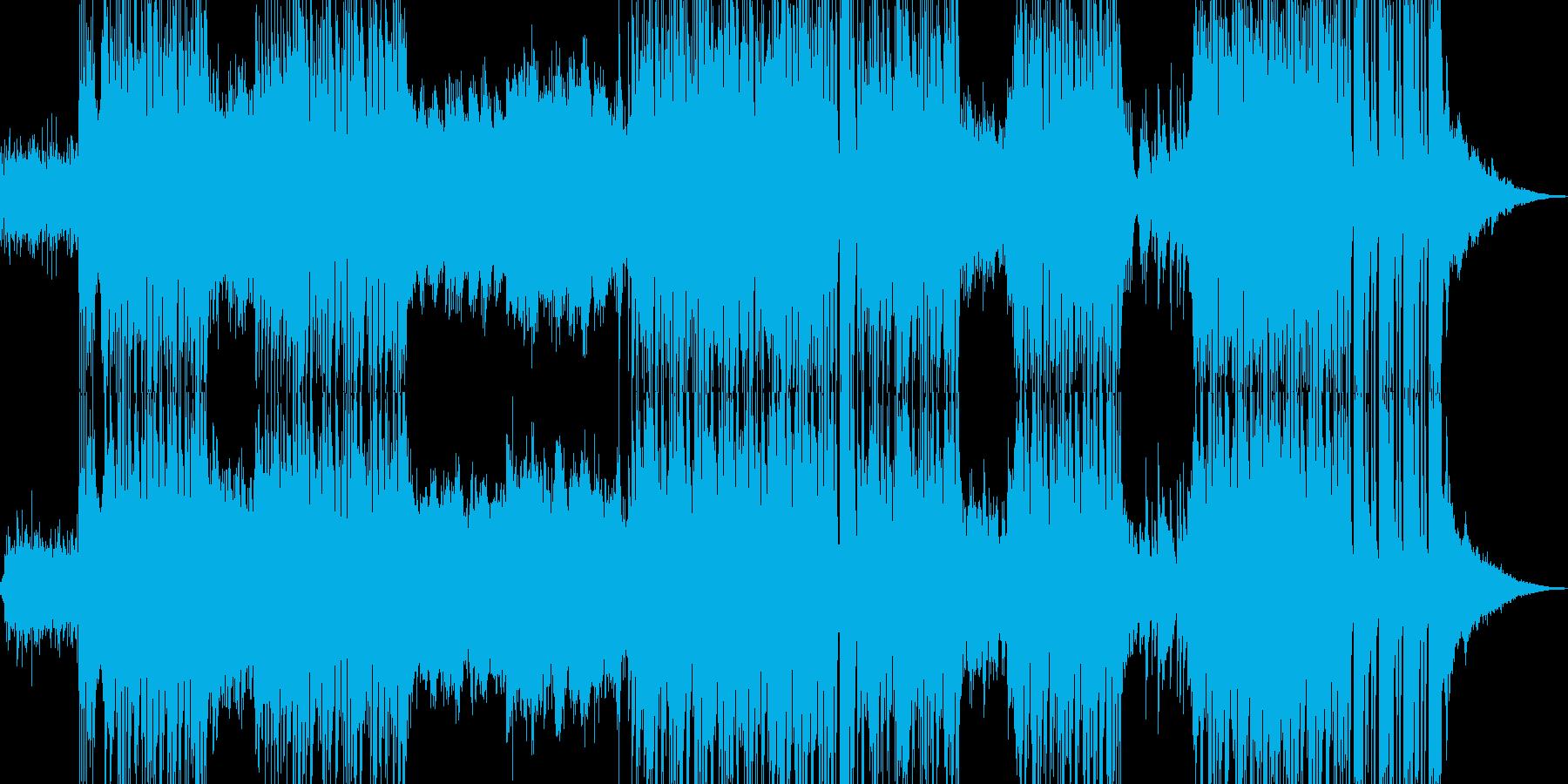 ハッピーな演出を彩るR&Bポップ ★の再生済みの波形