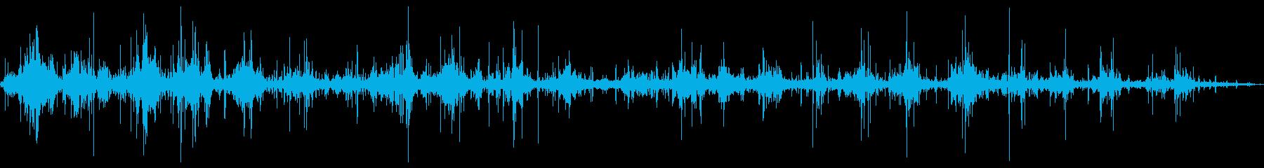 アルミニウムカヌー:2つのパドラー...の再生済みの波形