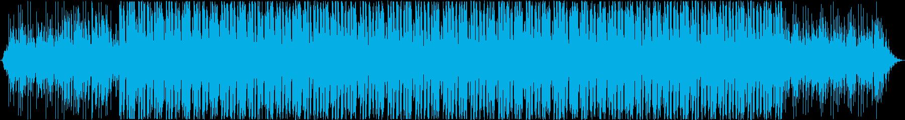 Positive trackの再生済みの波形