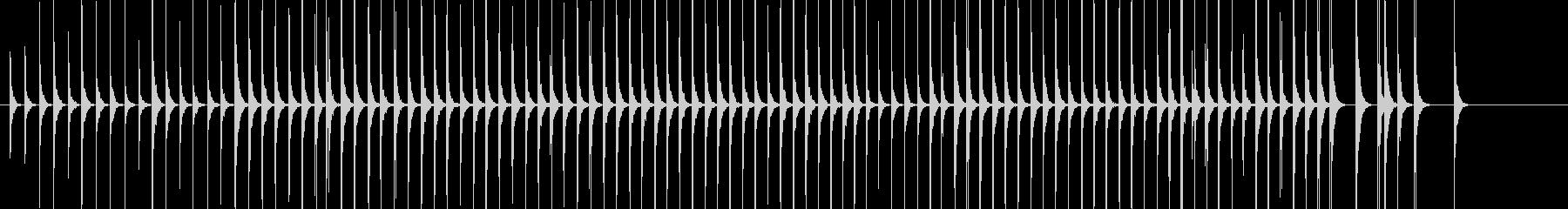 木琴1歌舞伎黒御簾下座音楽和風日本マリンの未再生の波形
