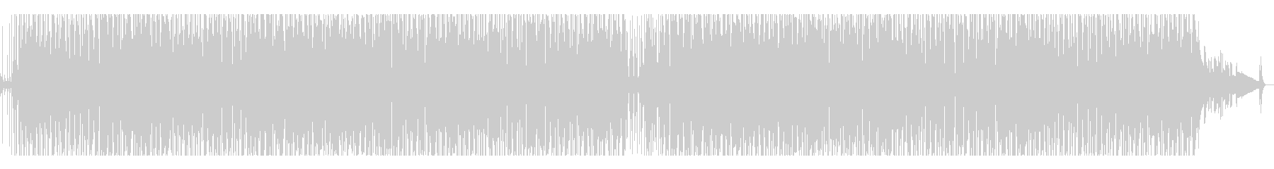 おしゃれなスキャット・エレクトロスイングの未再生の波形