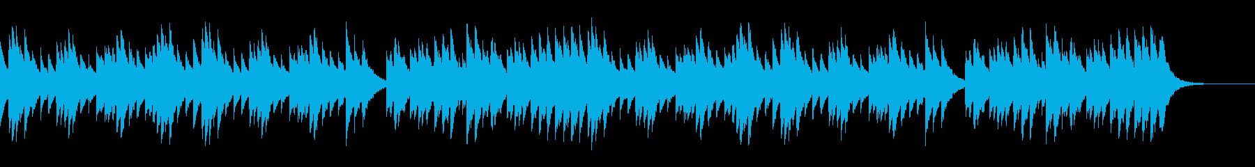 オルゴール ジブリ風の切ないファンタジーの再生済みの波形