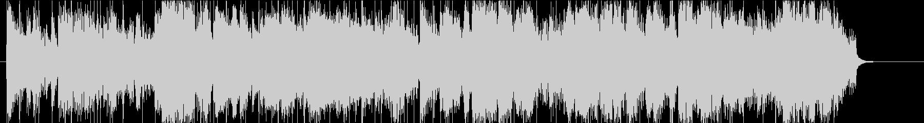 ジャズファンクなジングル、ロゴ、CM等にの未再生の波形
