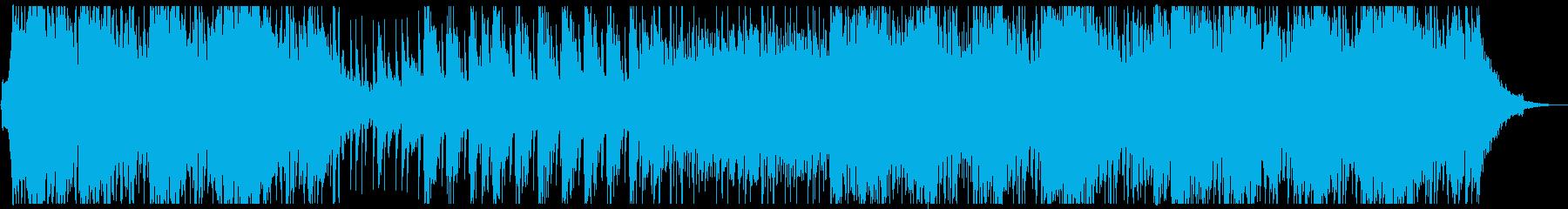 ドラム、シンセ、ストリングスで作ら...の再生済みの波形