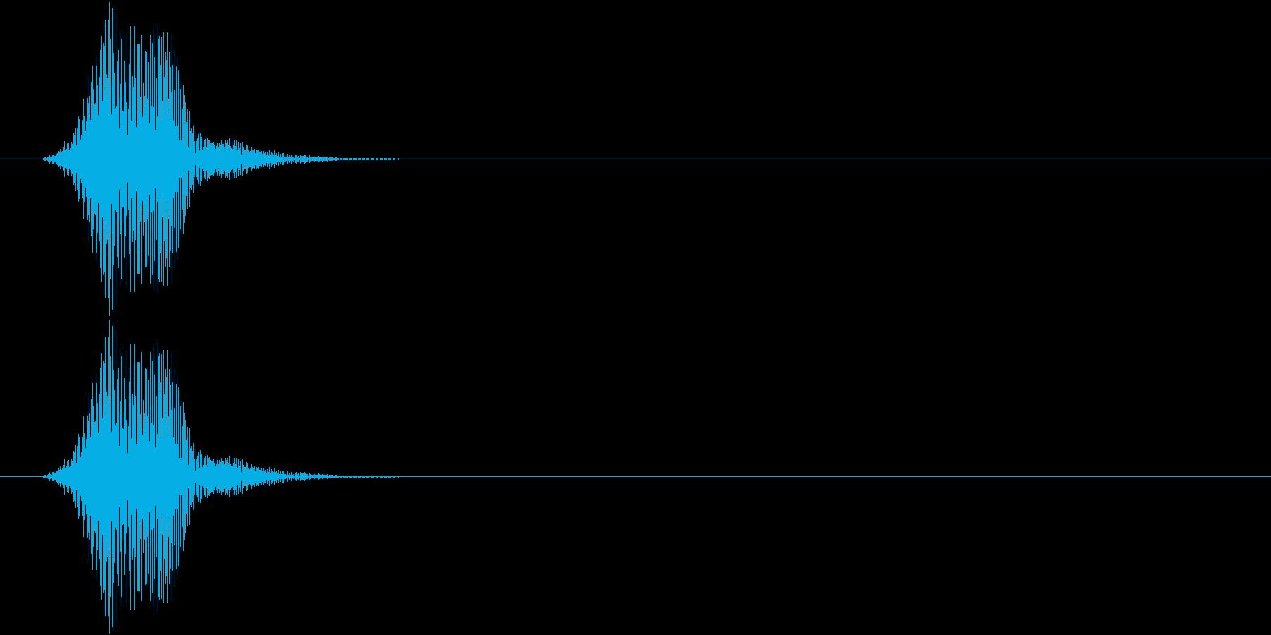 フォン(入力失敗 ワープ バーチャル) の再生済みの波形