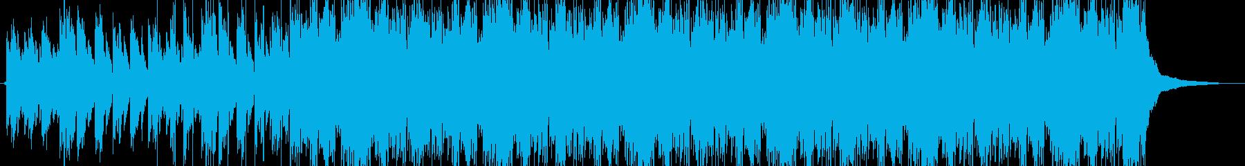 ピアノが印象的なバラード風トラックの再生済みの波形