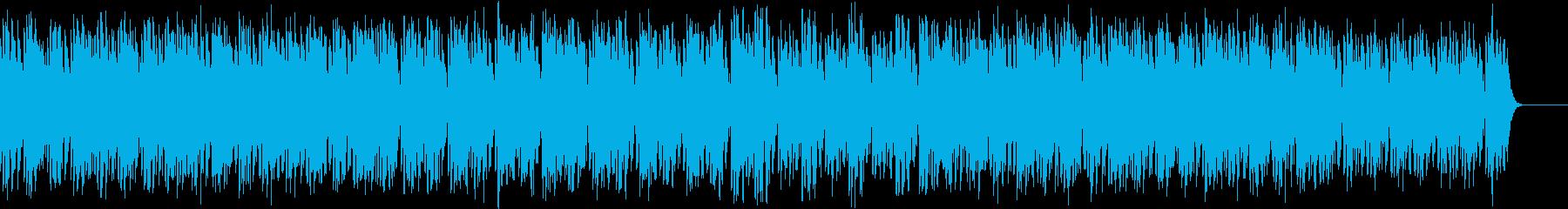 80s レトロ ドライブ 疾走感 シンセの再生済みの波形