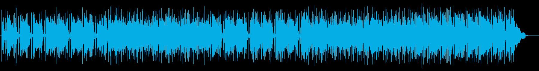 穏やかなアコースティックギターサウンドの再生済みの波形
