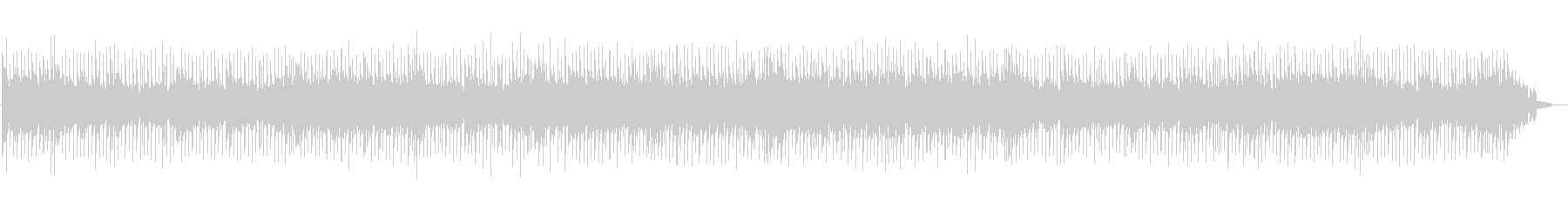 爽快なポップカントリーの未再生の波形