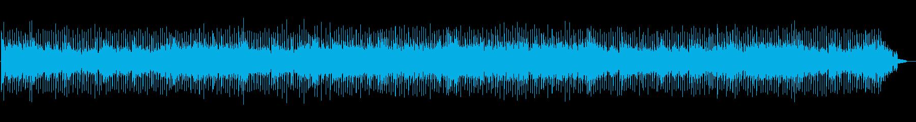 爽快なポップカントリーの再生済みの波形