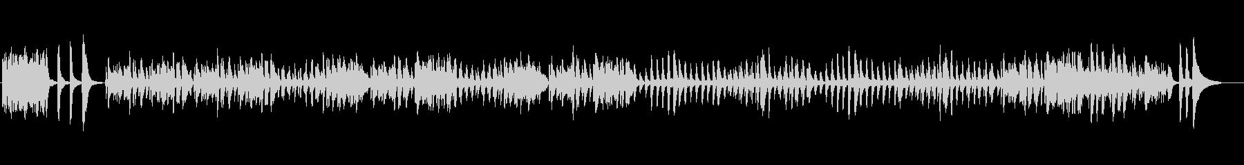 ブルグミュラーの「タランテラ」の未再生の波形