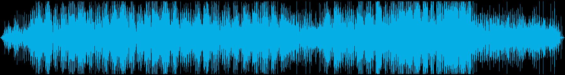 神秘的で浮遊感のあるアンビエントテクノの再生済みの波形