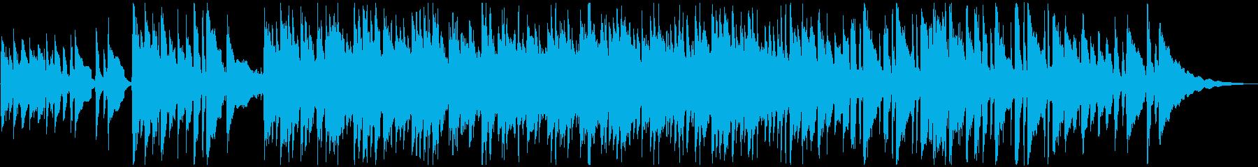 癒し系、透明感があるアコギのサウンドの再生済みの波形