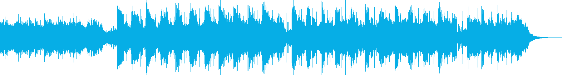 Pf「夜」和風現代ジャズの再生済みの波形