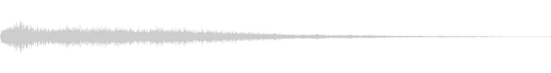 [ヒュオーン]魔法、無効化(低く短い)の未再生の波形