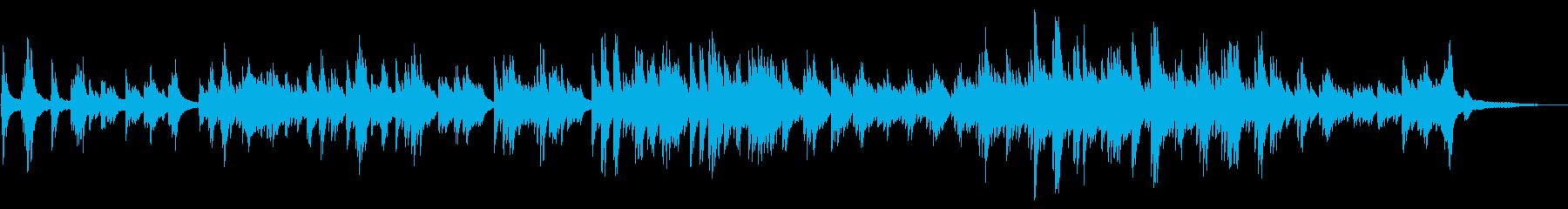 感動的で華やかな ピアノソロの再生済みの波形
