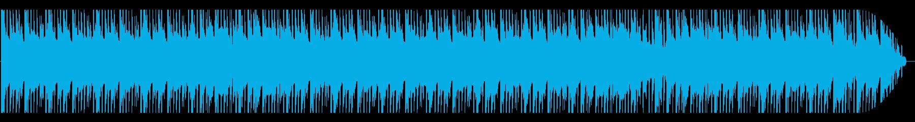 ゆったりとしたEDM系のBGMです。の再生済みの波形