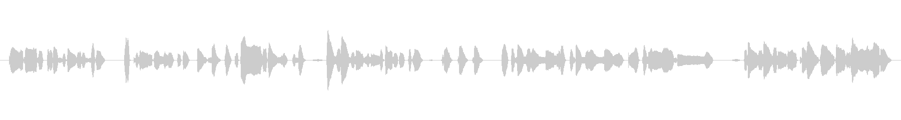 Slowly female a cappella's unreproduced waveform