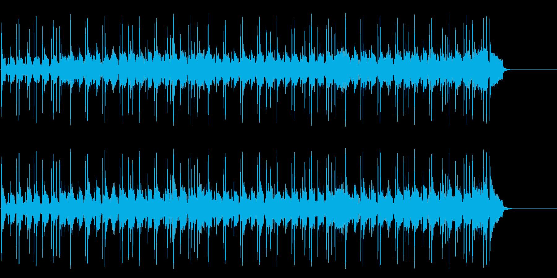 空を飛ぶ鳥のようなポップ(イントロ~…)の再生済みの波形