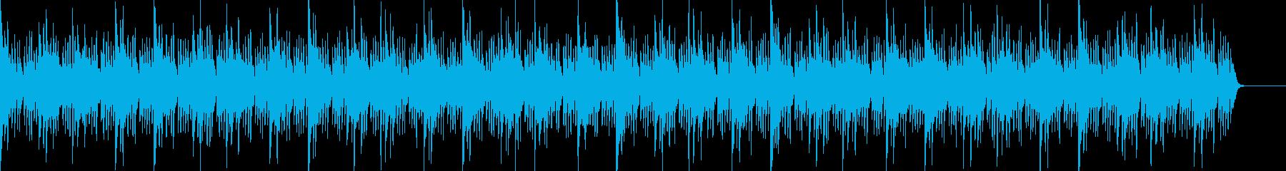 原始的なビート・ちょっと緊張感のある場面の再生済みの波形