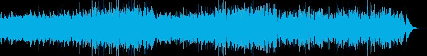 凛とした雰囲気のピアノジャズフュージョンの再生済みの波形
