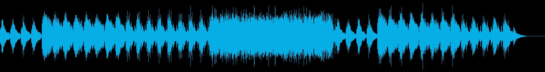 夜のとばりをイメージしたダークなインストの再生済みの波形
