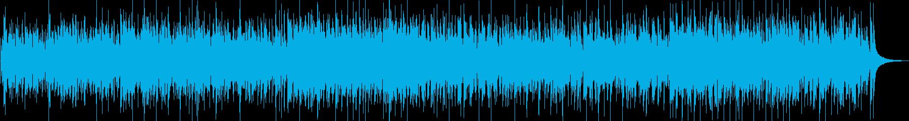放浪の旅をイメージしたカントリーBGMの再生済みの波形