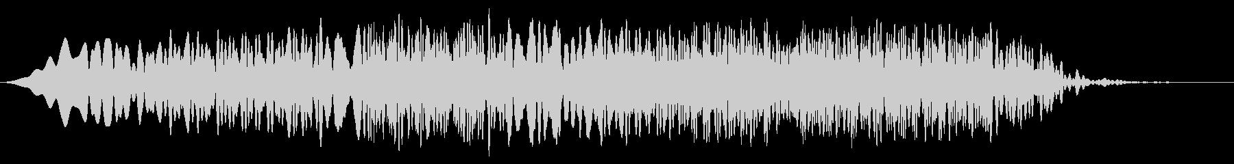 テルミン:揺らめくお化け屋敷音楽の...の未再生の波形