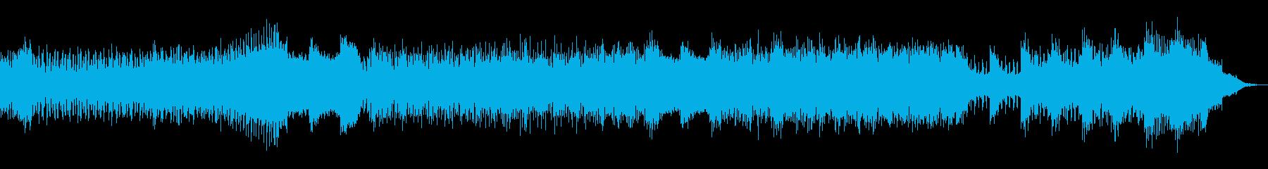 エレキ激しい戦いオーケストラテクノの再生済みの波形