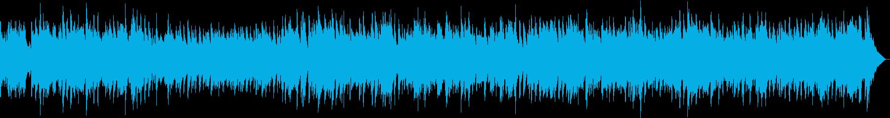 エンディングに似合うバラードの再生済みの波形