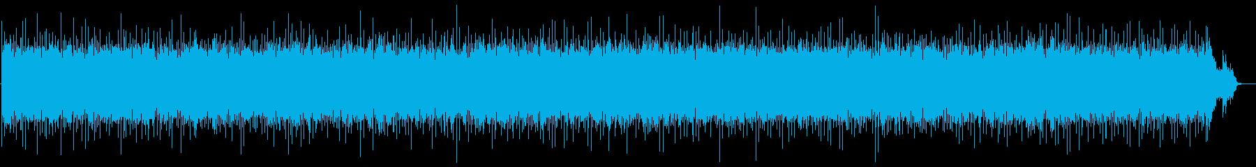 ロックなジャズの再生済みの波形