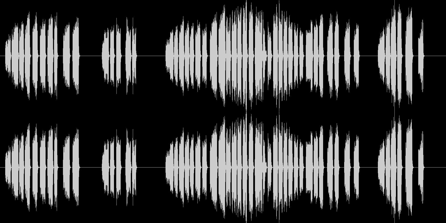 ファルコン、プレーリーコール。大声...の未再生の波形