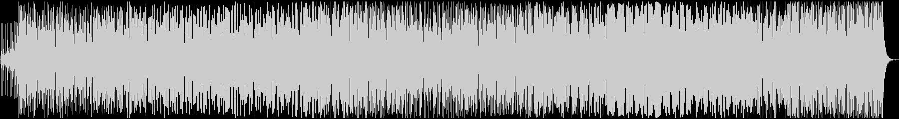 活動的で明るいイメージのBGMの未再生の波形
