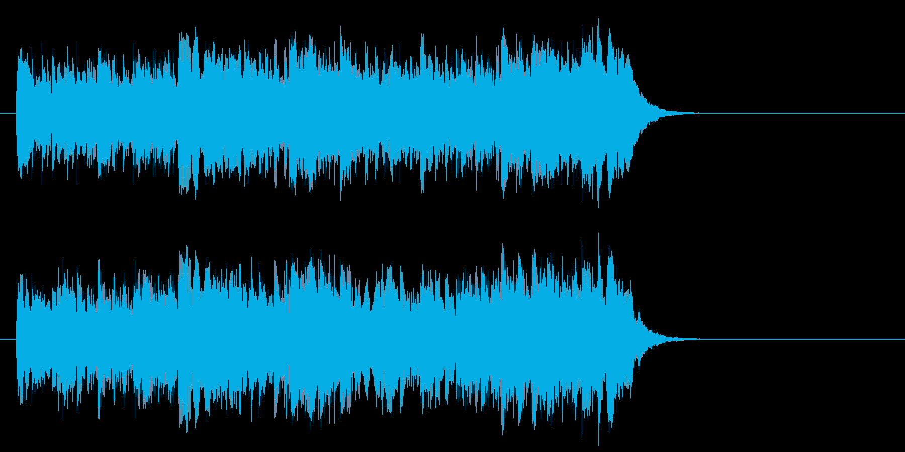 優しいポップフュージョン(イントロ)の再生済みの波形