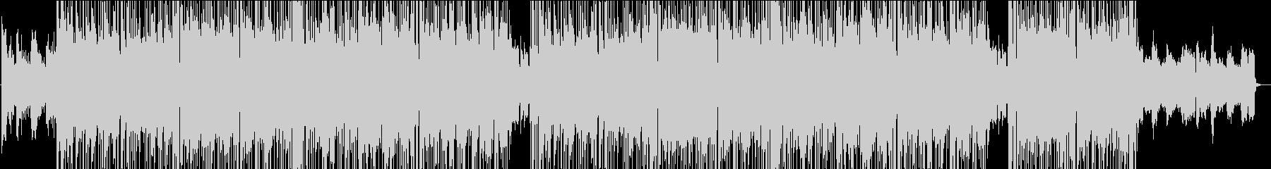 スムースジャズのリラックストラックの未再生の波形