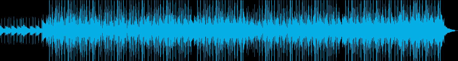 モダンでR&Bの曲の再生済みの波形