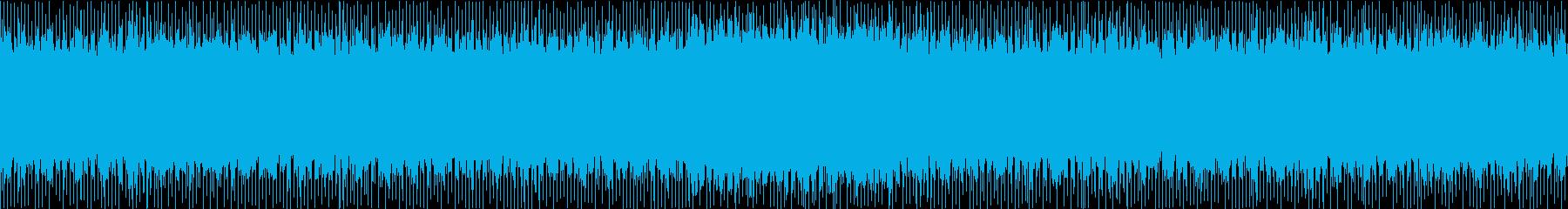 一定のリズムで乗りやすいEDM Loopの再生済みの波形